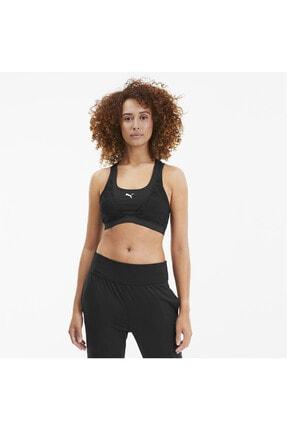 Puma Kadın Siyah Studıo Lace Antrenman Spor Sütyeni