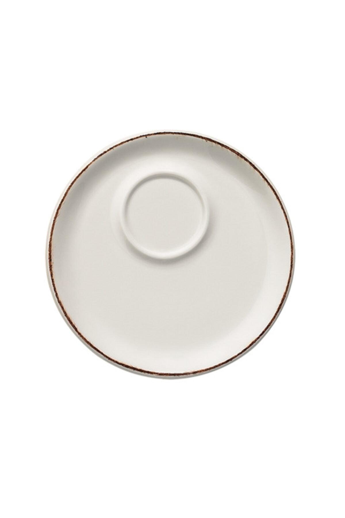 Bonna Porselen Retro Banquet Espresso Fincanı/Tabak 6'lı Takım 2