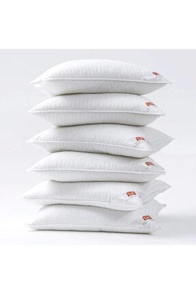 Taç Beyaz Yıkanabilir Elyaf Yastık 2 Adet