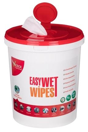 VEBOX Easy Wet Wipes Islak Kova Mendil 300 Adet