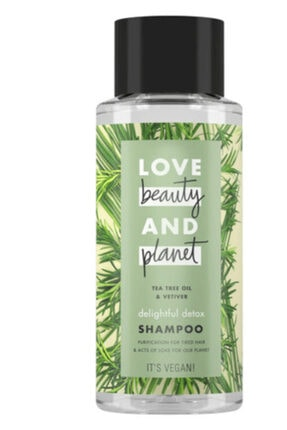Love Beauty and Planet Şampuan Çay Ağacı Yağı Ve Vetiver Şampuan