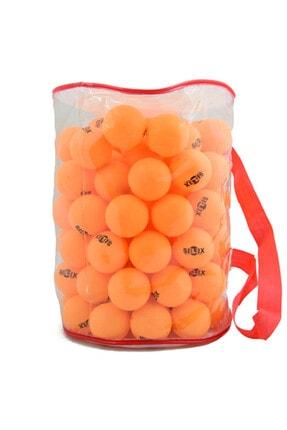 SELEX 100 Lü Eksiz Pinpon Topu (turuncu)