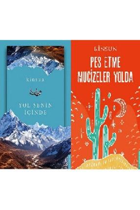 Destek Yayınları Kinsun 2 Kitap Set Pes Etme Mucizeler Yolda + Yol Senin Içinde