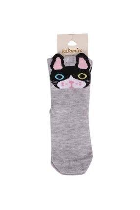 Katamino Soket Çorap 003 | Gri 1 Yaş