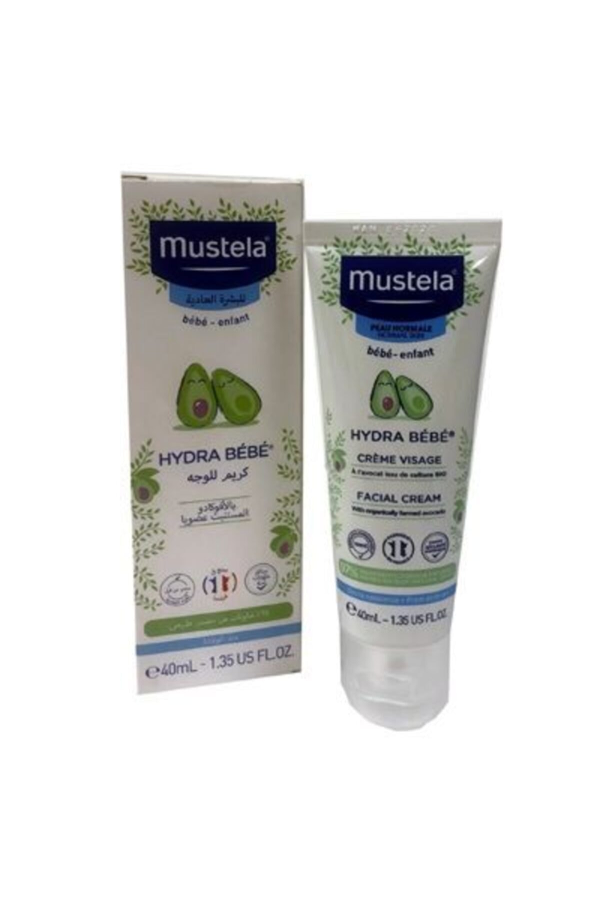 Mustela Hydra Bebe Face Cream 40 Ml (nemlendirici Yüz Kremi) 1