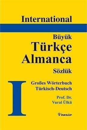 İnkılap Kitabevi Türkçe - Almanca Büyük Sözlük