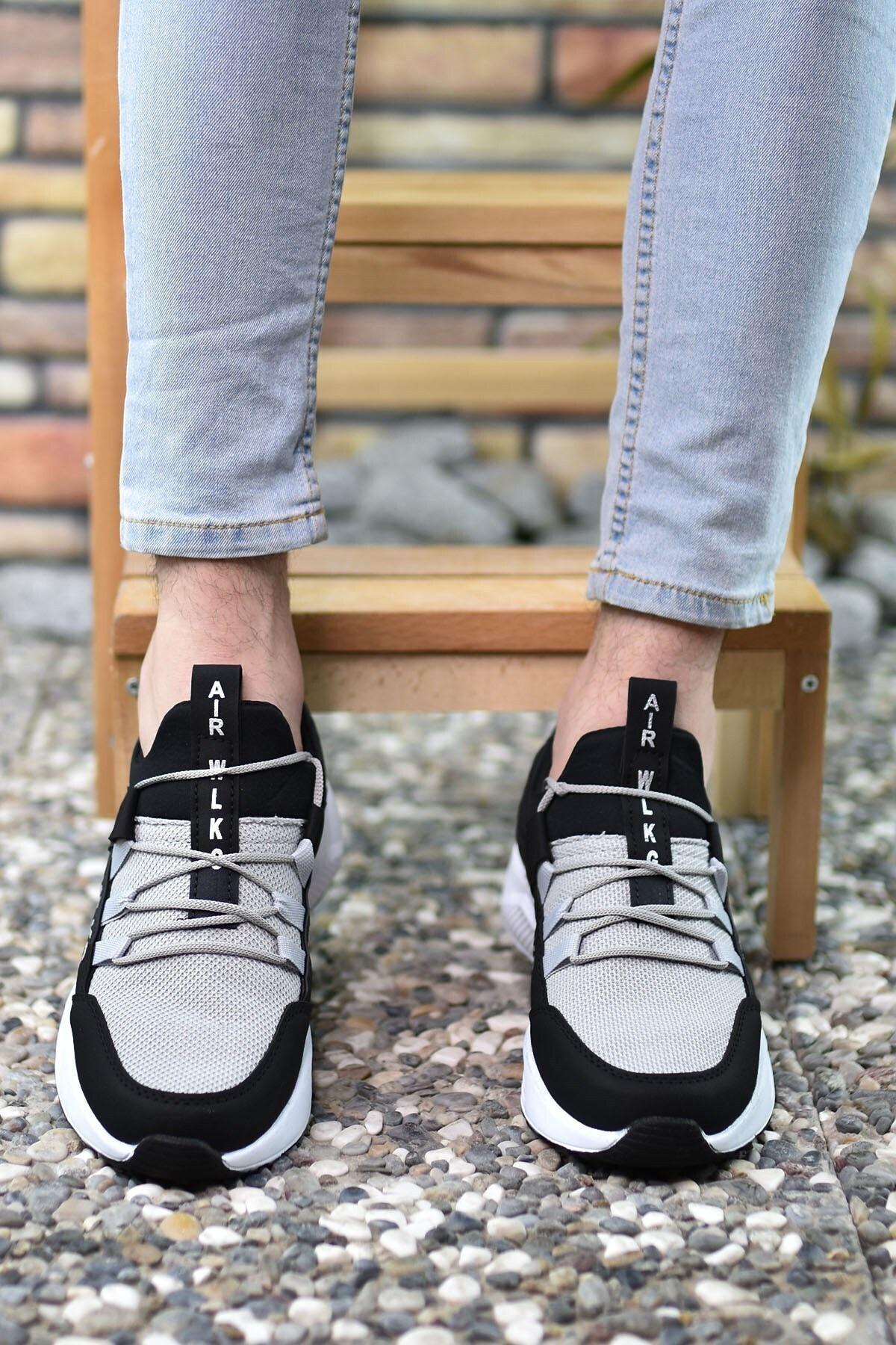 Riccon Siyah Buz Unisex Sneaker 0012072 2