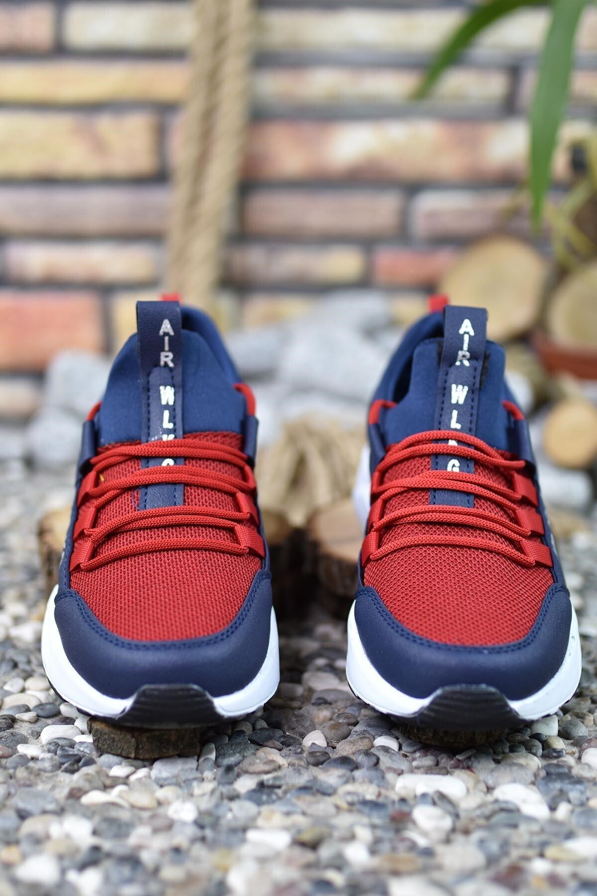 Riccon Unisex Lacivert Bağçıklı Sneaker 0012072 1
