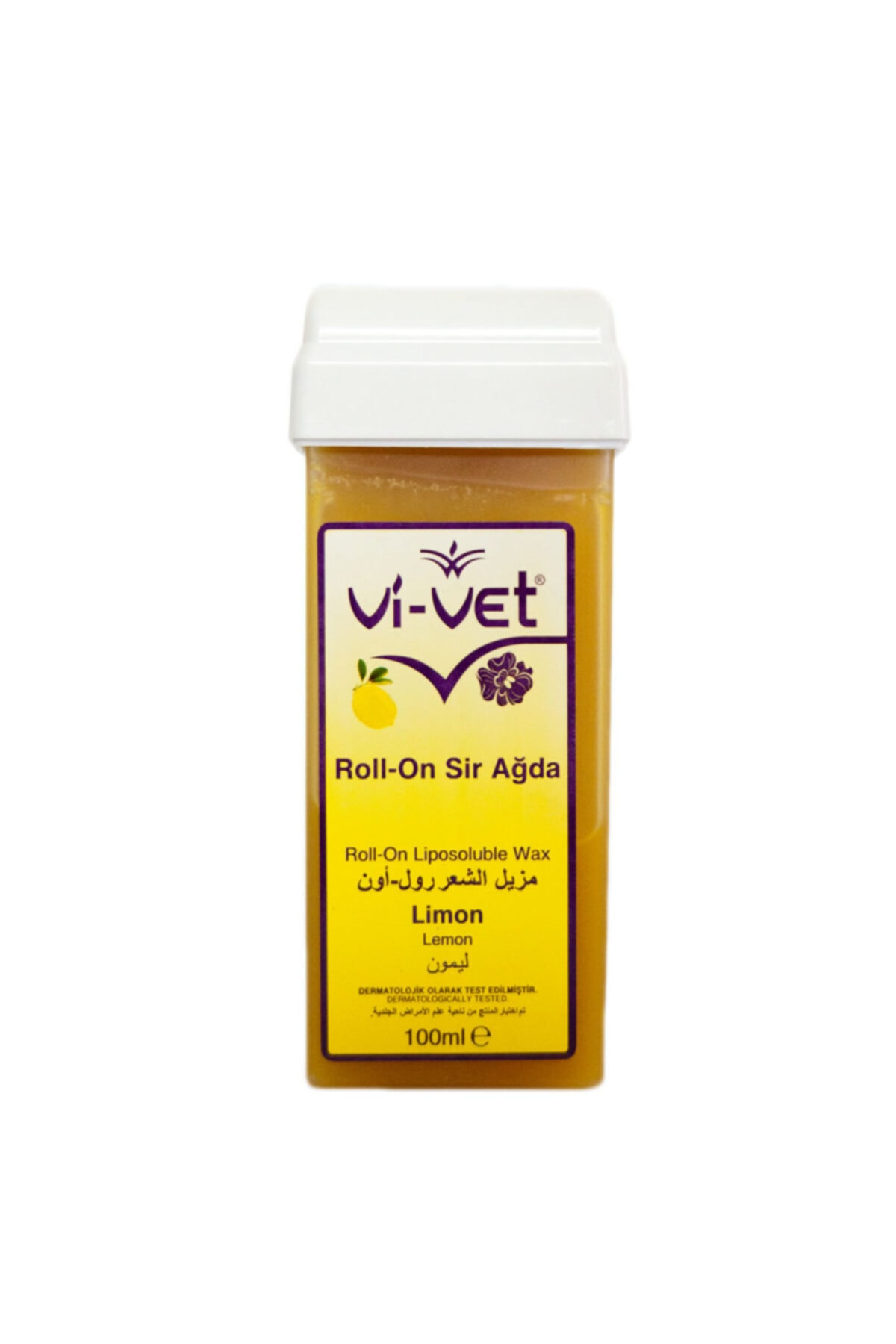 Vi-vet Sir 100 ml Kartuş Roll-on Limon 1