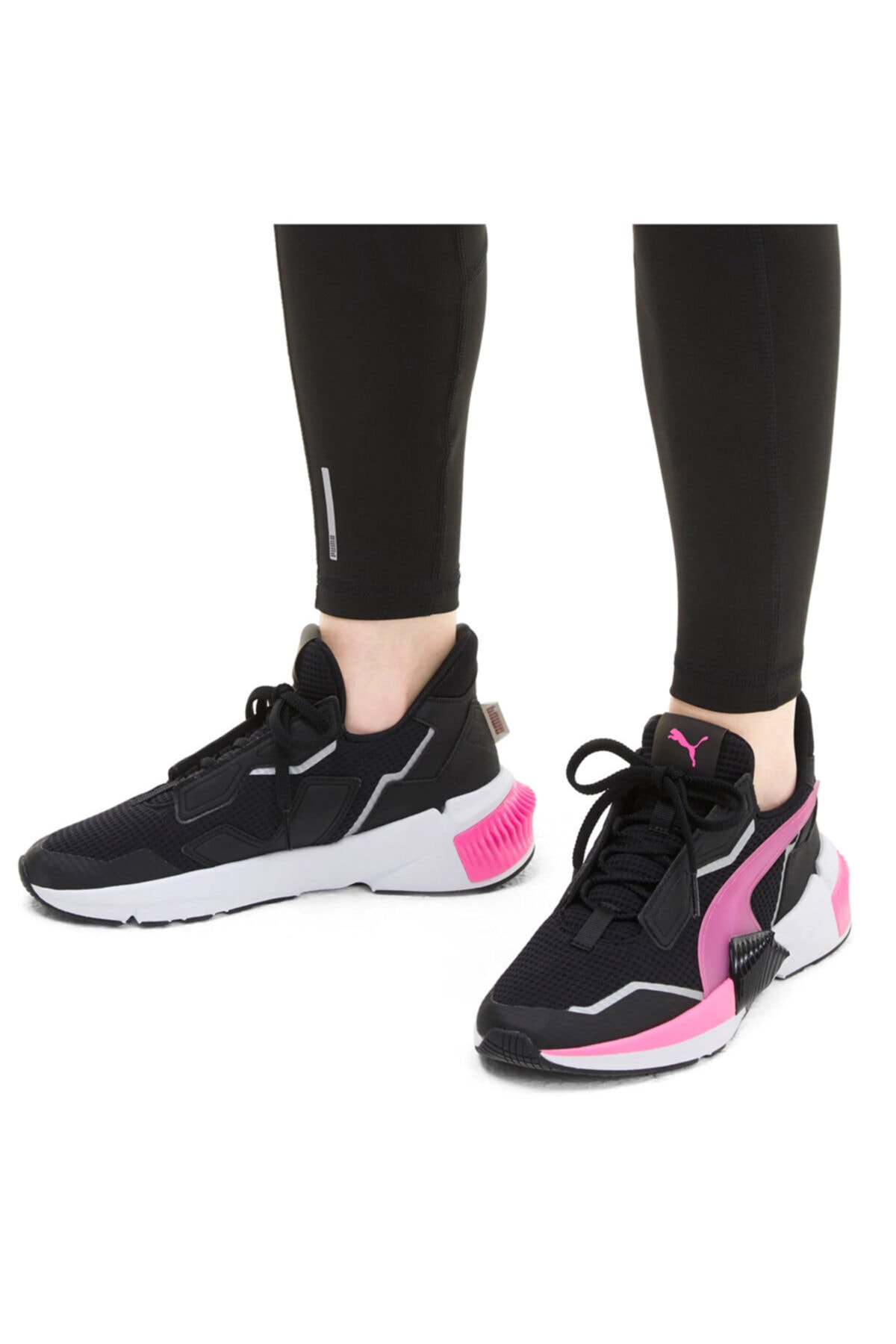 Puma Kadın Siyah Provoke Xt  Antrenman Ayakkabısı 19378402 2
