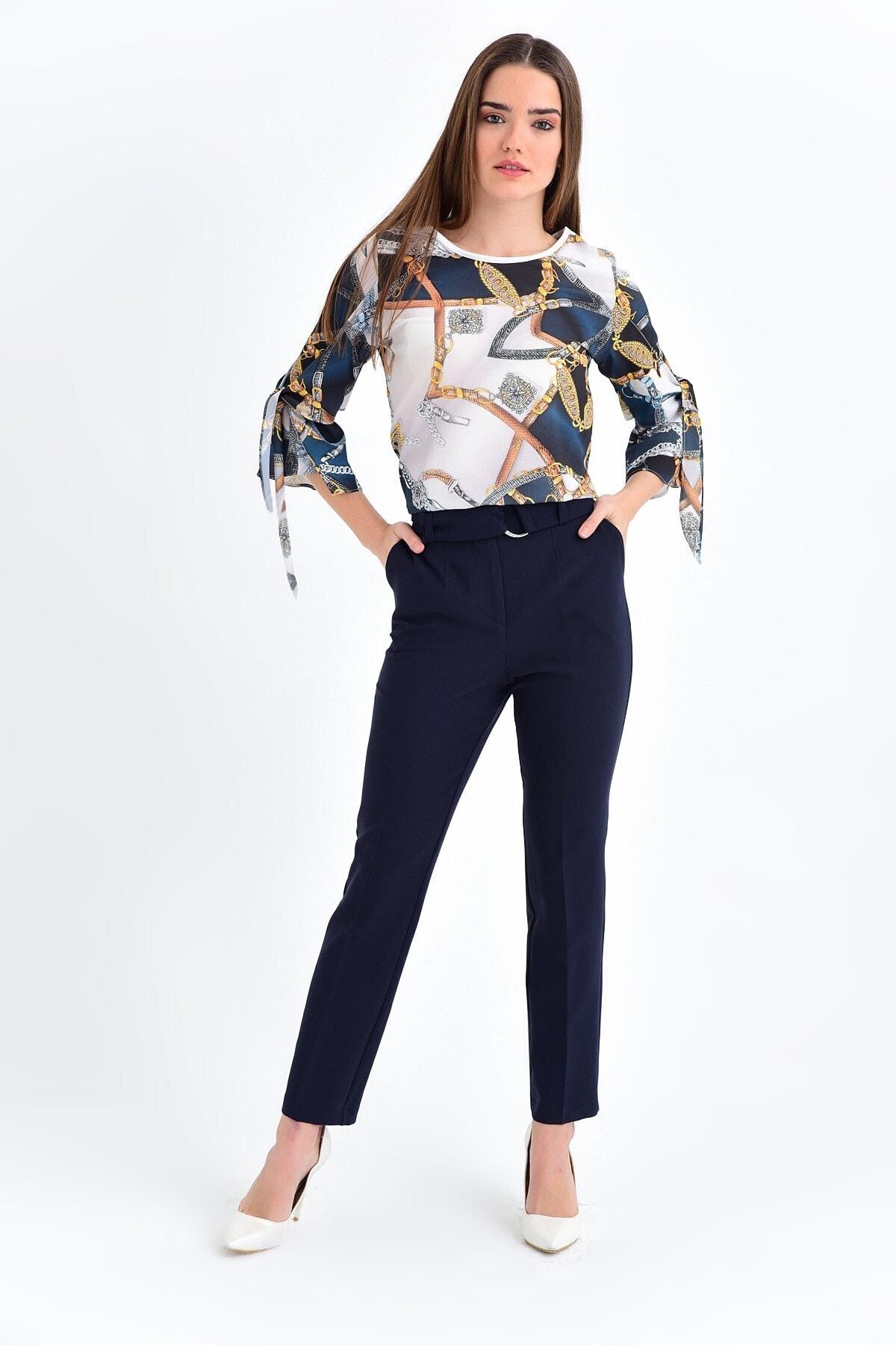 Jument Kadın Lacivert Pantolon 2522 1