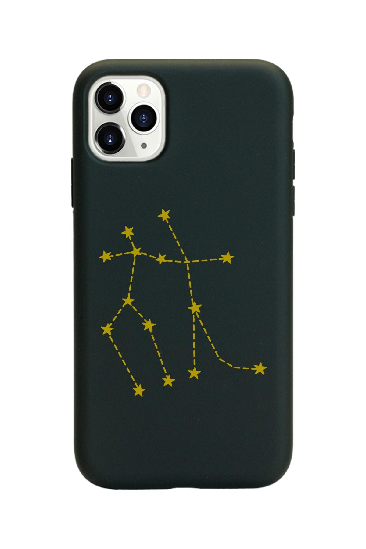 Spoyi Ikizler Burcu (gemeos) Yıldız Haritası Tasarımlı Iphone 11 Pro Max Kılıf 1