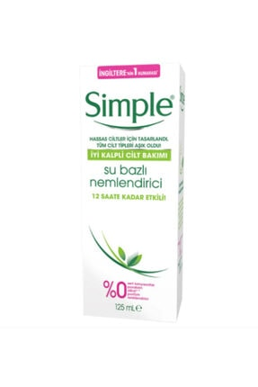 Simple Su Bazlı Nemlendirici 125 ml