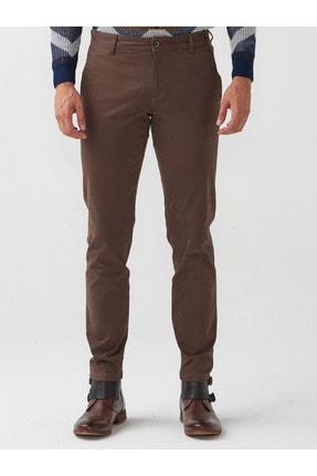 Mcr Erkek Haki Slim Fit Pamuklu Pantolon