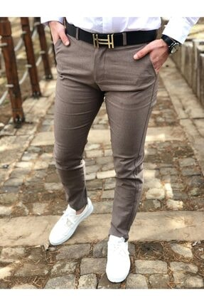 ukdwear Erkek Petek Desen Keten Pantolon