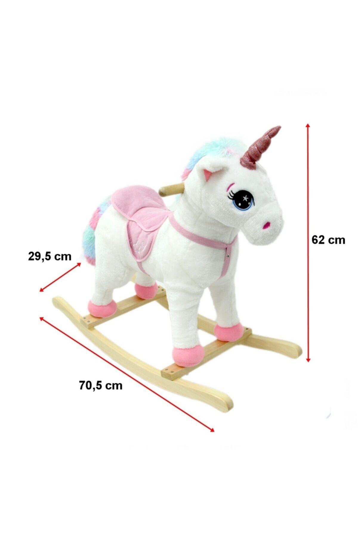 Can İthalat Sallanan At Sesli Küçük Unicorn 2