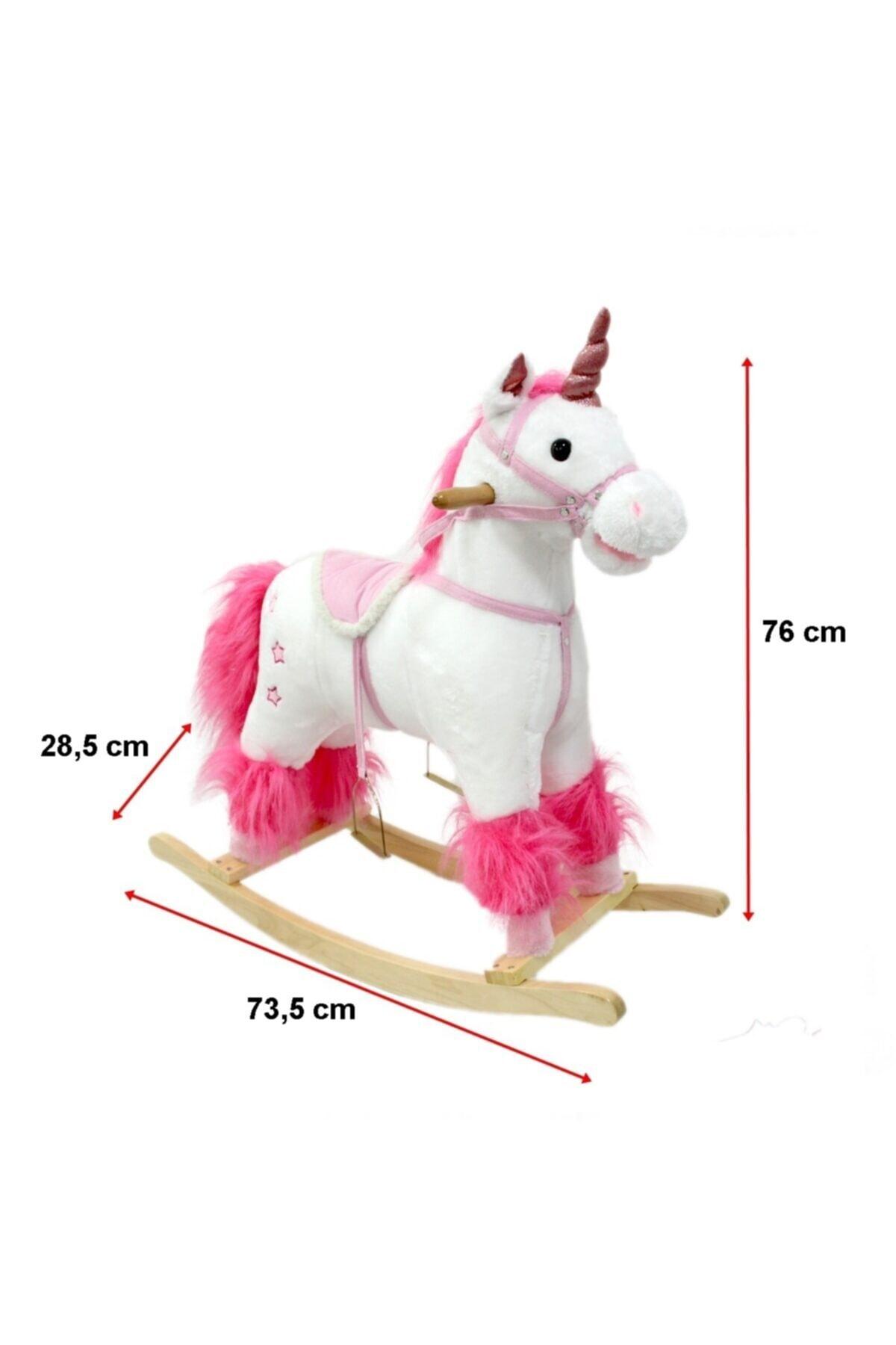 Can İthalat Sallanan At Sesli Unicorn 2