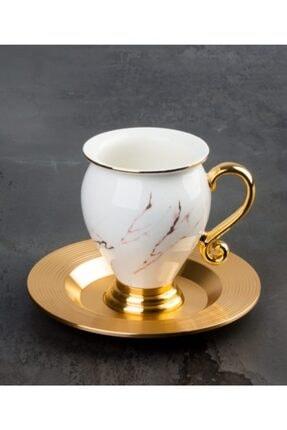 ACAR 6'lı Kahve Fincanı Takımı