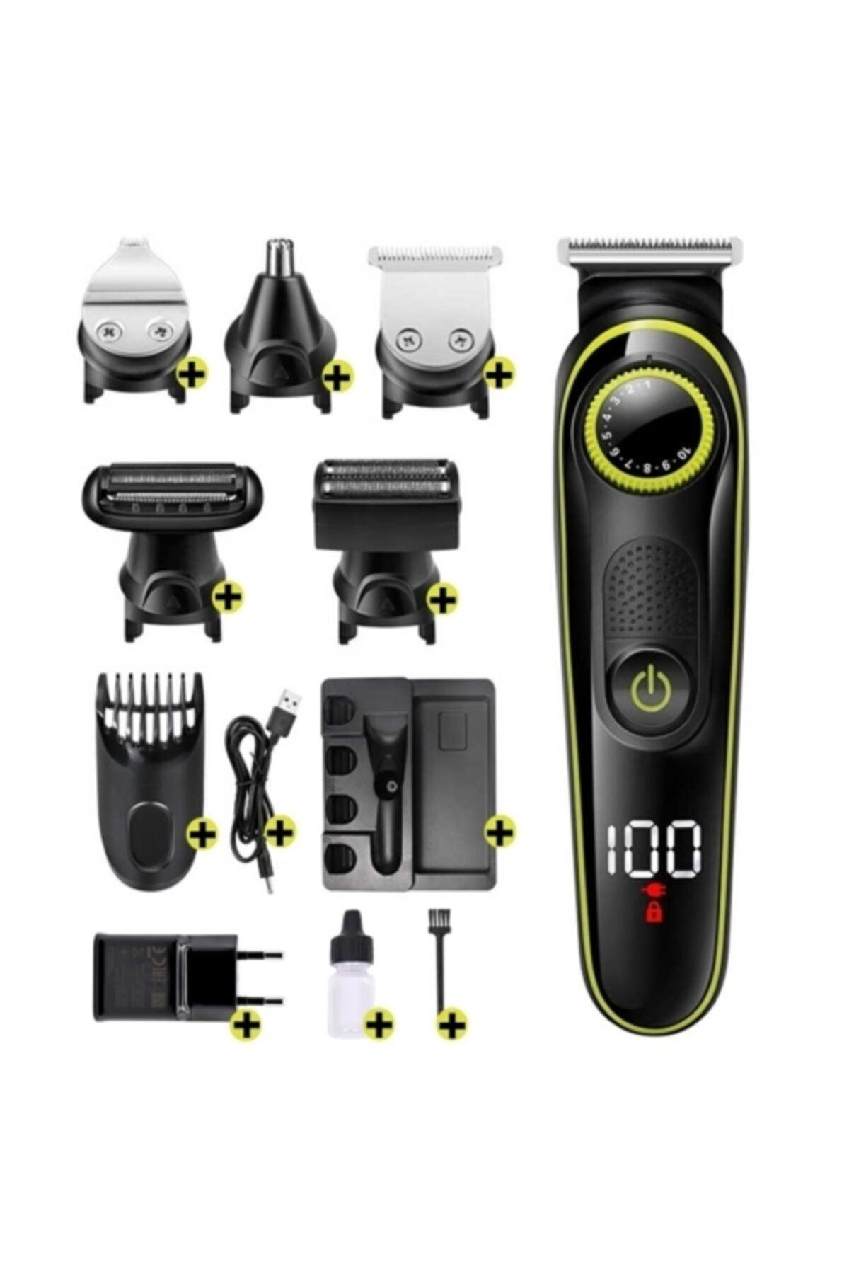 yopigo Yp 6171 Saç & Sakal Şekillendirici Tıraş Makinesi Erkek Bakım Seti 5 In 1 Ultimate 1