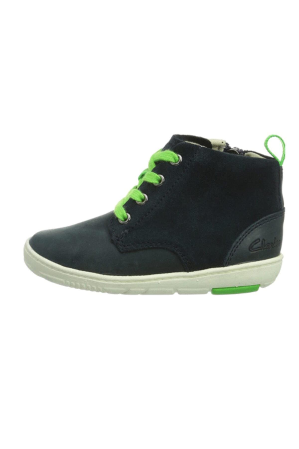 CLARKS Unisex Çocuk Lacivert Maxı Hehe Ayakkabı 2