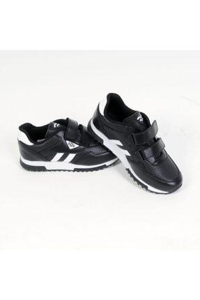 Sidasa 361-g Cırtlı Siyah-beyaz Cilt Spor Ayakkabı