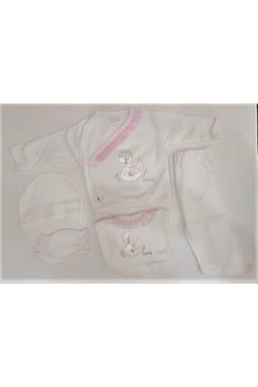 Bebitof Baby Kuğu Temalı 5 Parça Hastane Çıkışı