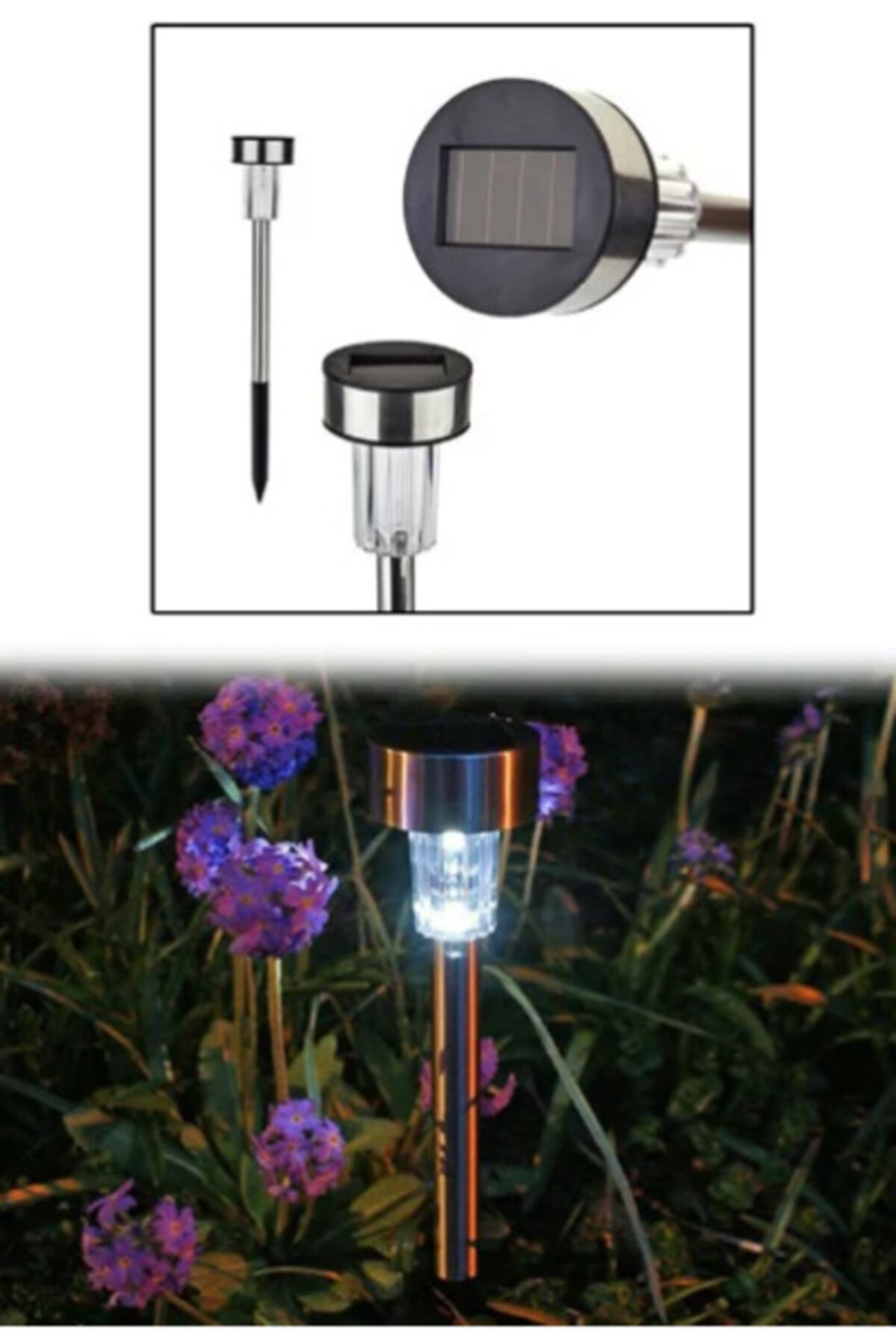 ELBA Kablosuz Solar Bahçe Lambası Garden Lamp (küçük) 1