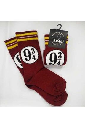 Kuzgunshop Harry Potter Hogwarts Express 9 3/4 (üç Çeyrek) Unisex Çorap