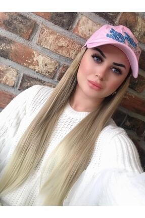 Suzan Peruk Unisex Sandra Düz Şapkalı Saç 98