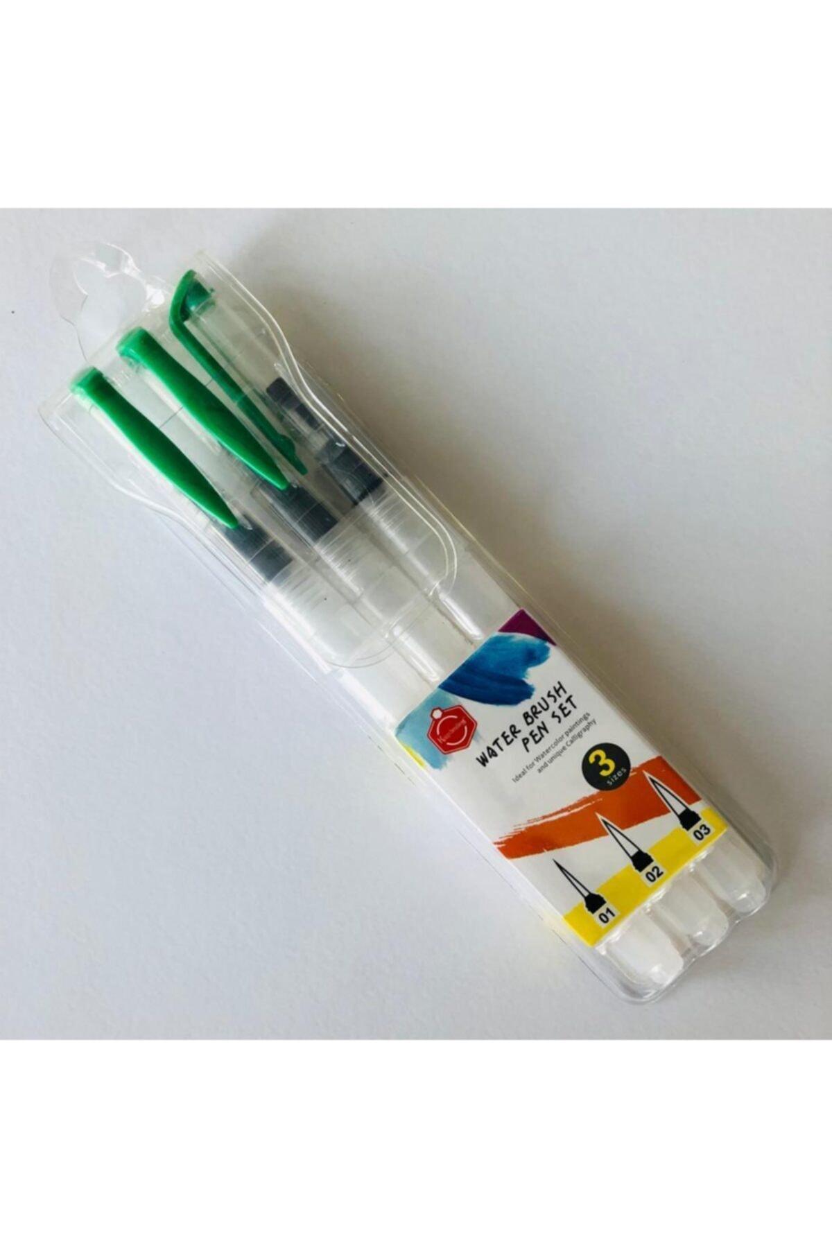 Linea Su Hazneli Fırça 3'lü 20 Cm 2