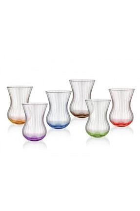 Cemile Optica 6'lı Asorti Çay Bardağı