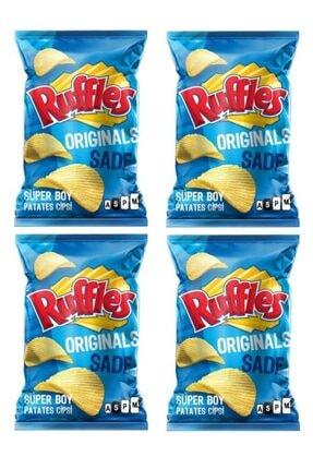 Ruffles Doritos Orjinal Sade Patates Cips 4 Adet x 107 gram