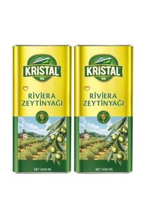 Kristal Riviera Zeytinyağı 5 Lt 2 Adet