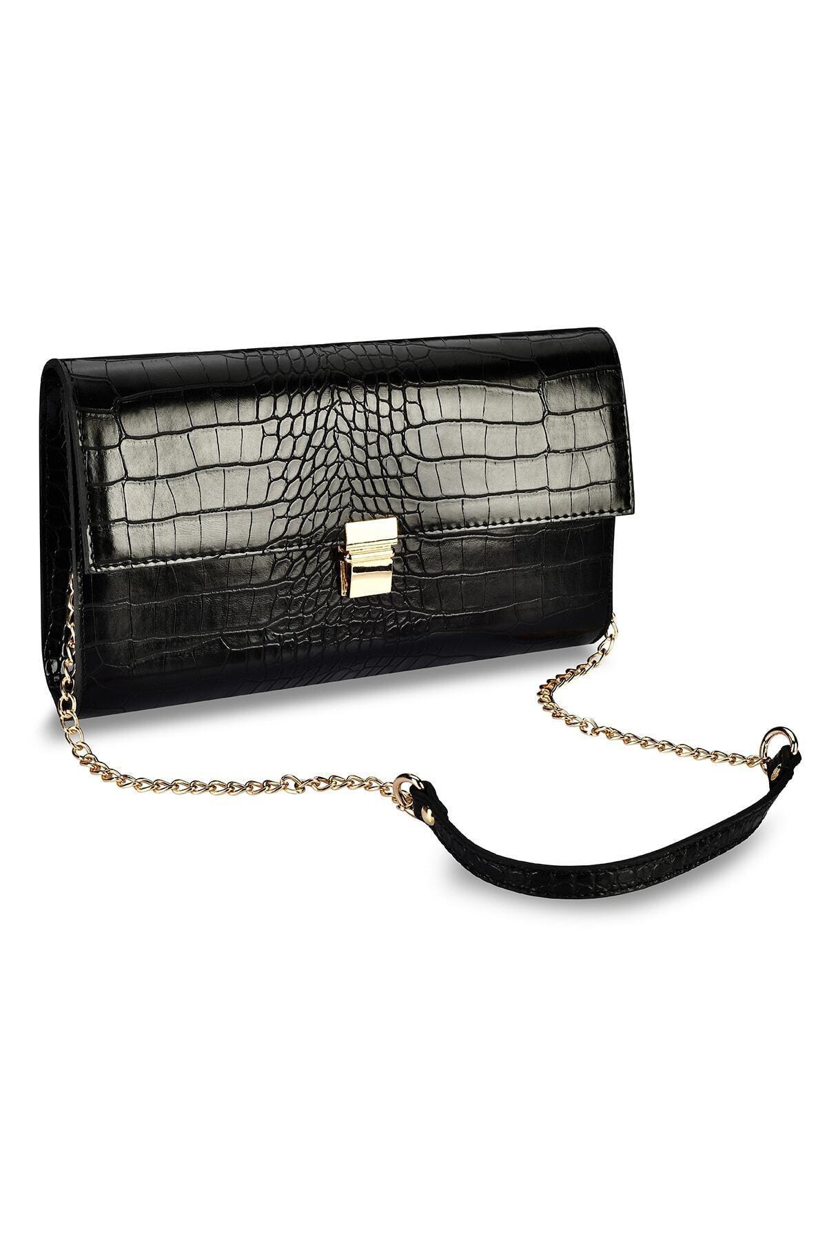 Coquet Accessories Kadın Siyah El Çantası 19g3u13n831 2