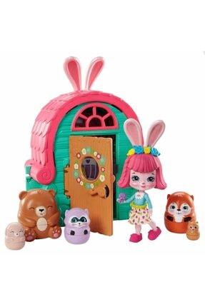 Enchantimals Secret Besties Bebek Ve Ev Oyun Seti Gtm46 - Tavşancık Bree'nin Kulübesi