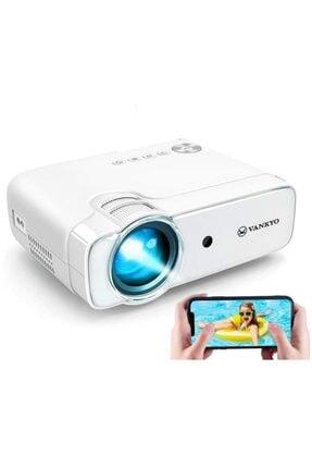 Vankyo Leisure 430w Wi-fi, Hoparlör, Mini Film Projeksiyon 1080p, 3500:1, 50,000 Saat