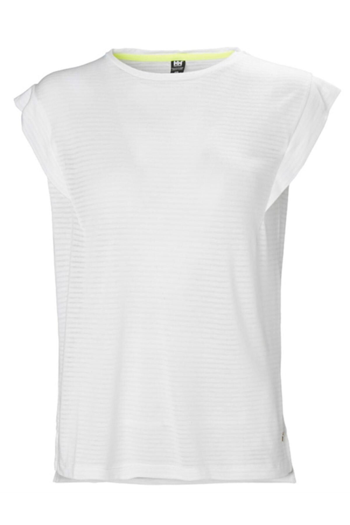 Helly Hansen W Siren Spring Kadın T-shirt Beyaz 1