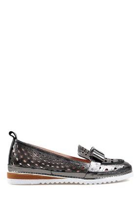 Hammer Jack Platin Sımlı Kadın Ayakkabı 378 8670-z