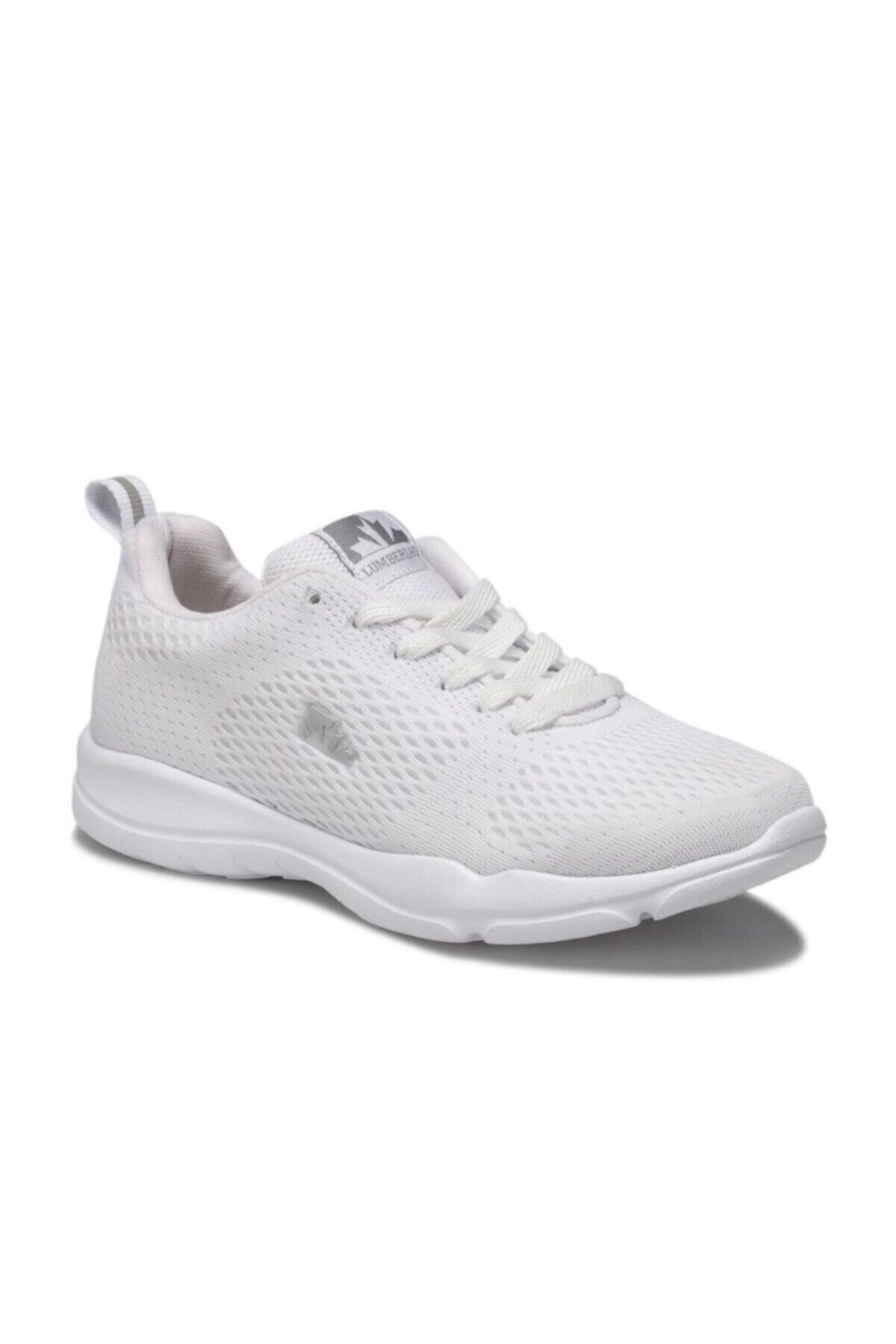 lumberjack 100496879 Agatha Wmn Beyaz Kadın Sneaker Beyaz-39 1