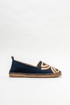 Elle Shoes Kadın Lacivert Espadril