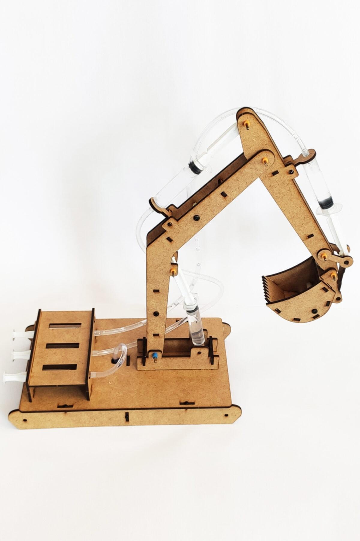 robotikşeyler Kendin Yap Ekskavatör Kepçe Seti - Çocuklar Için Robotik Kodlama Setleri 2