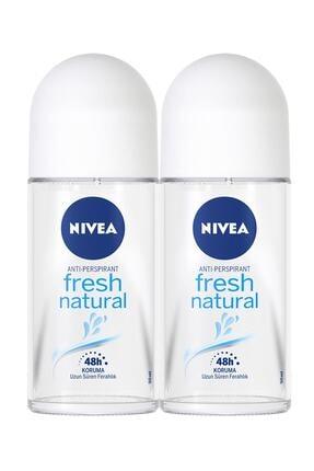 Nivea Fresh Natural Kadın Deodorant Roll-on 50 ml 2'li