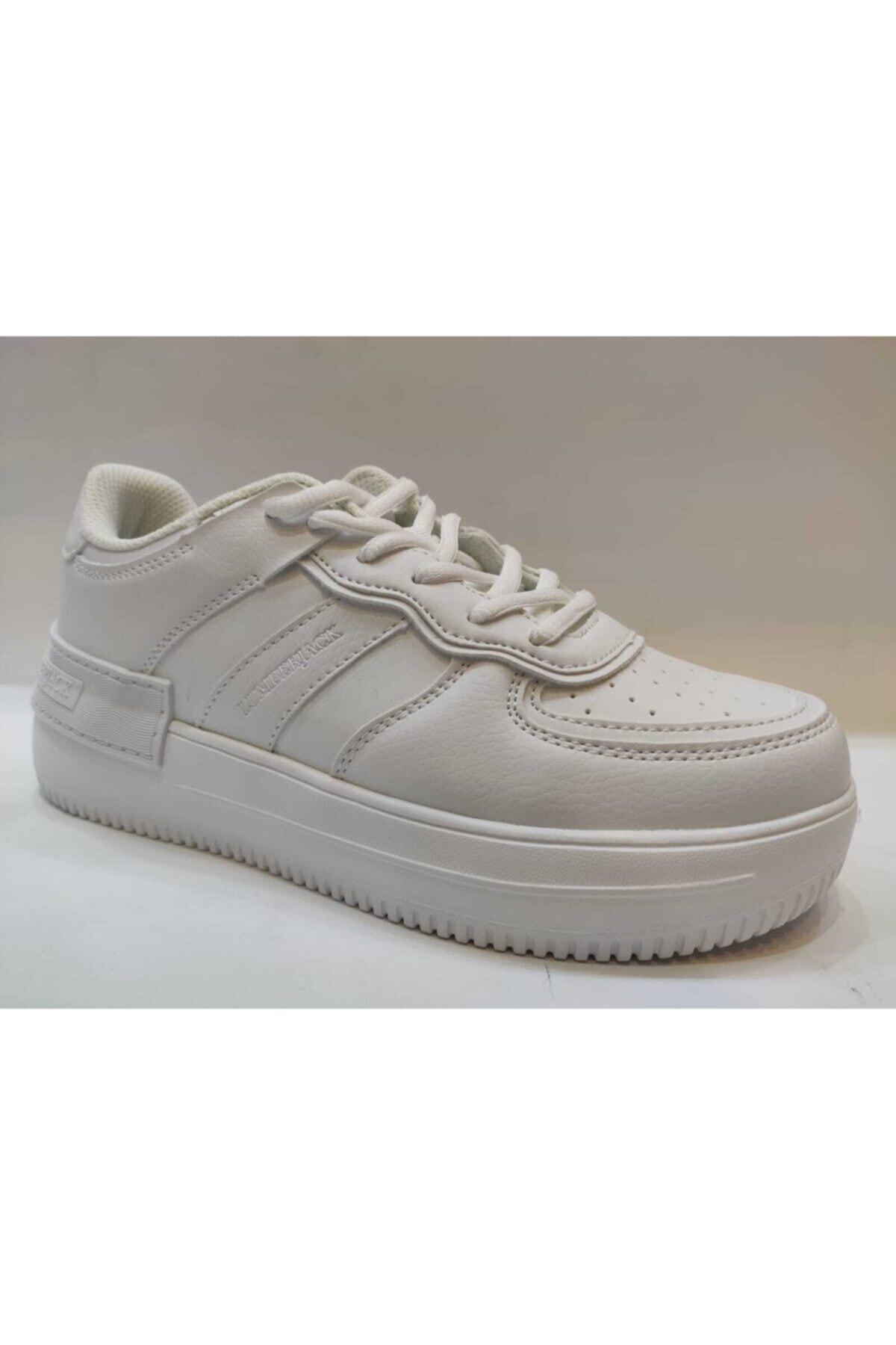 lumberjack FREYA 1FX Beyaz Kadın Sneaker Ayakkabı 100785034 2