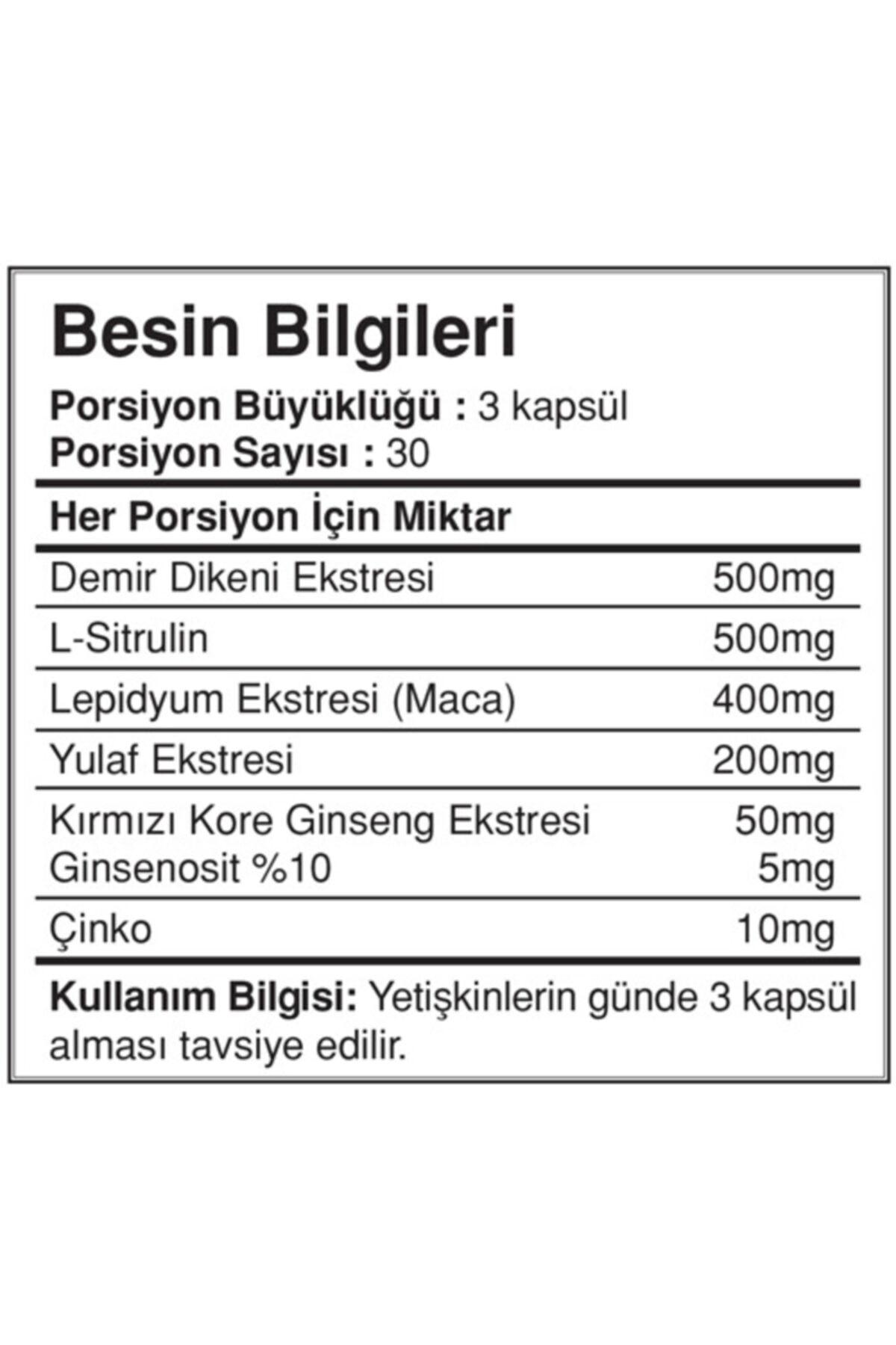 Big Joy Vitamins Alphamen 90 Kapsül 2
