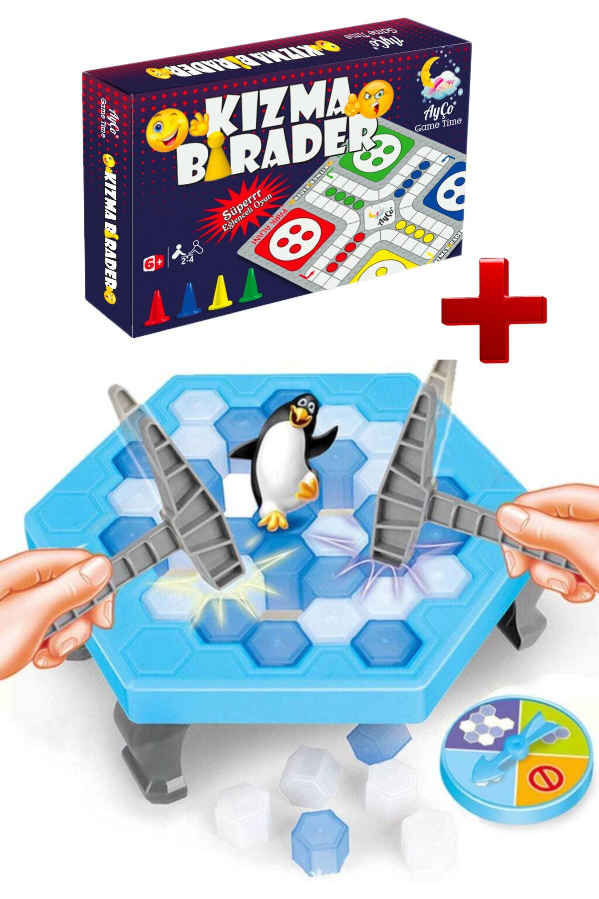 Alshop Buz Kırma Oyunu Penguen Düşürmeli Buz Tuzağı Oyunu Zeka Ve Strateji Kızma Biraderli 1