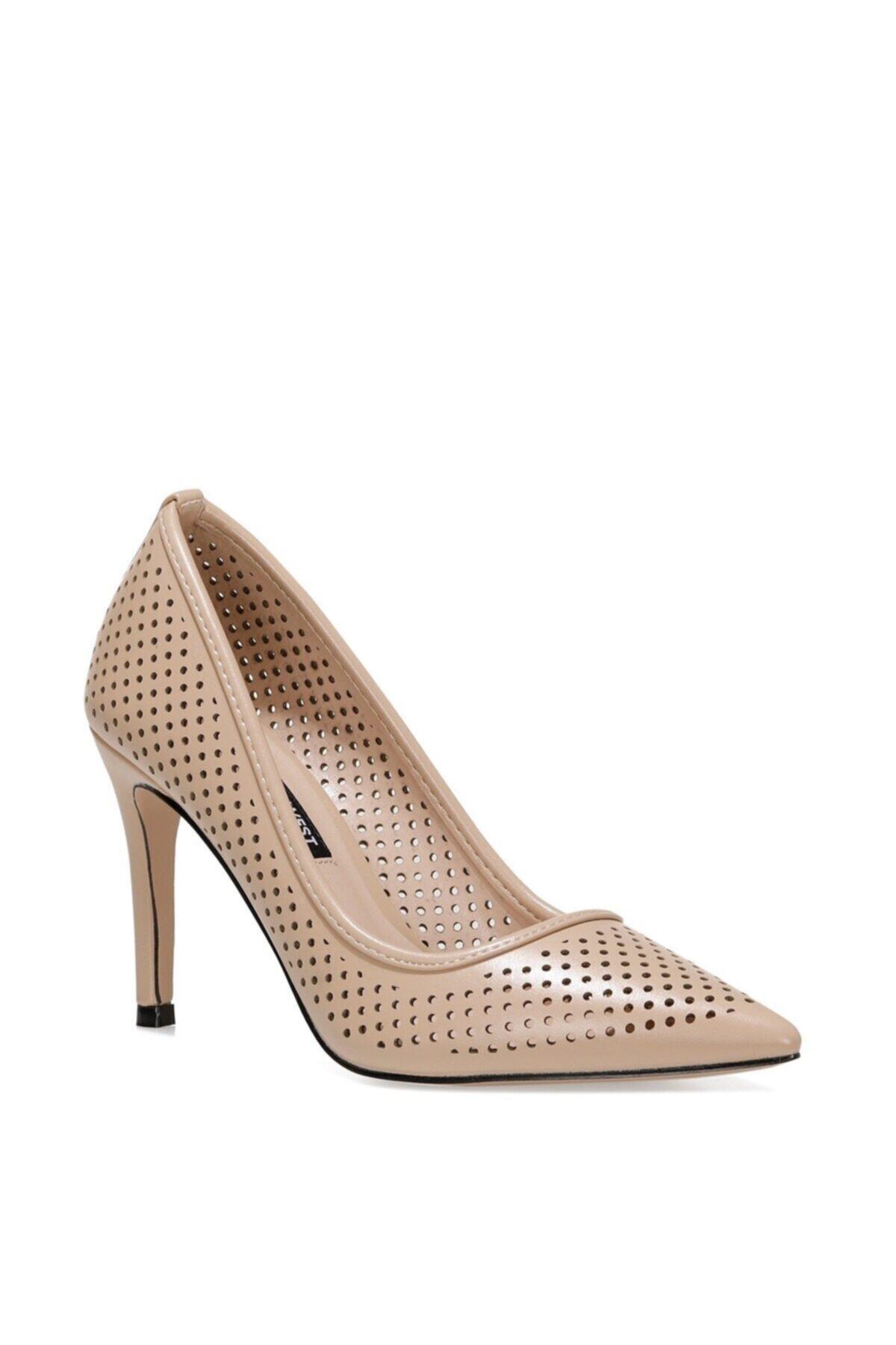 Nine West JERRIKA 1FX Naturel Kadın Klasik Topuklu Ayakkabı 101007987 2