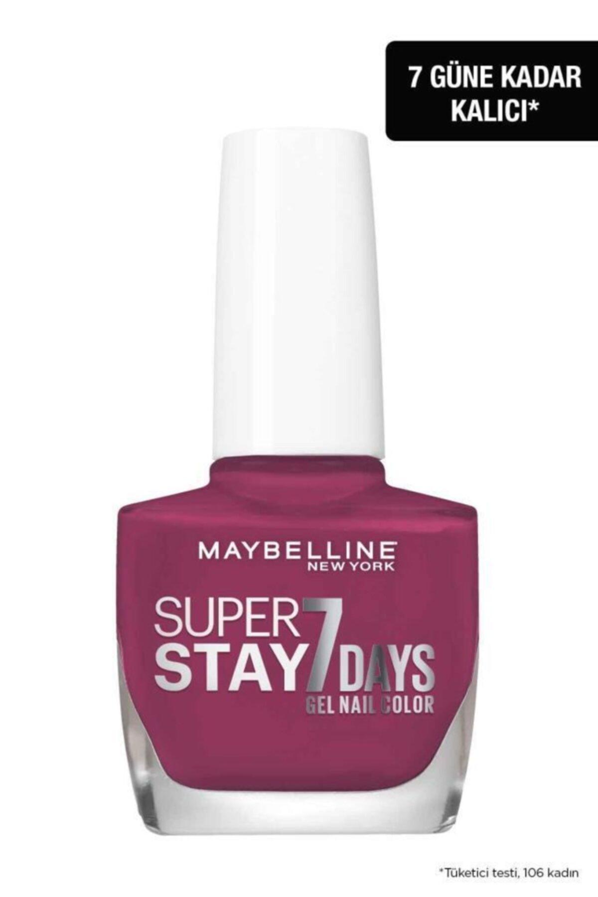 Maybelline New York Super Stay Oje- 255 Mauve On 2