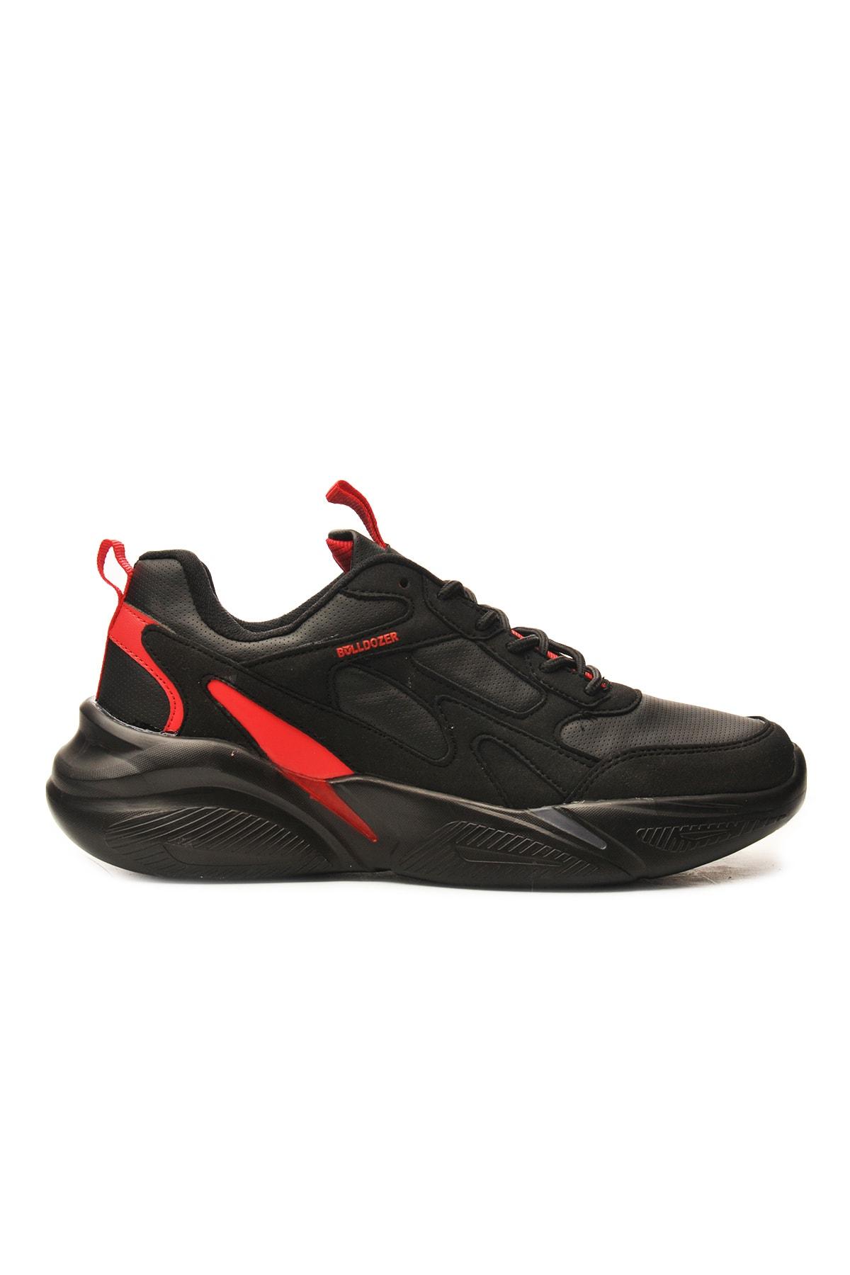 Bulldozer Erkek Siyah Spor Ayakkabı 1