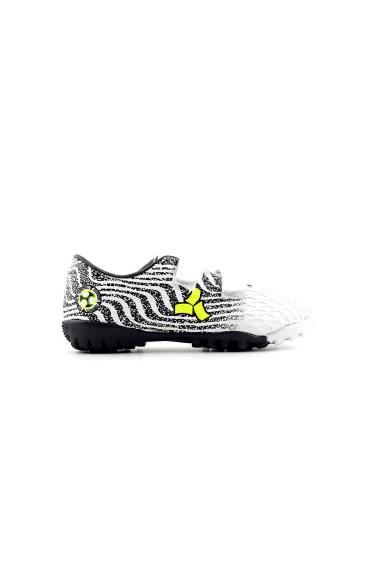 Twingo Erkek Çocuk Halısaha Ayakkabı-beyaz Siyah 1