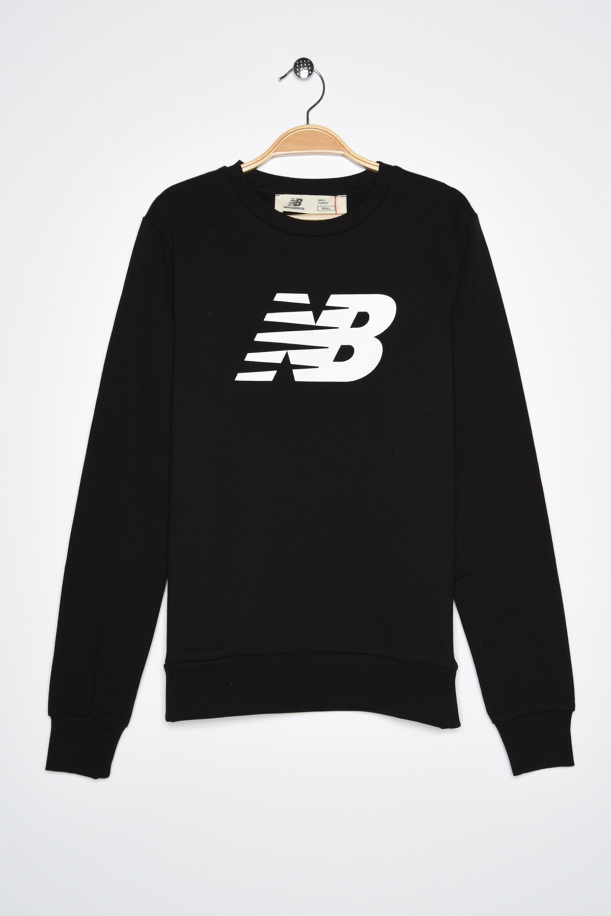 New Balance Kadın Spor Sweatshirt - CREW NECK  - WTC0303-BK 1